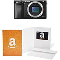 Sony Alpha a6000 Mirrorless Digital Camera - Body only + $50 Giftcard