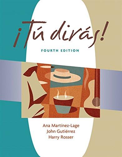 Tu diras (with Audio CD) (Tú dirás) (World Languages)