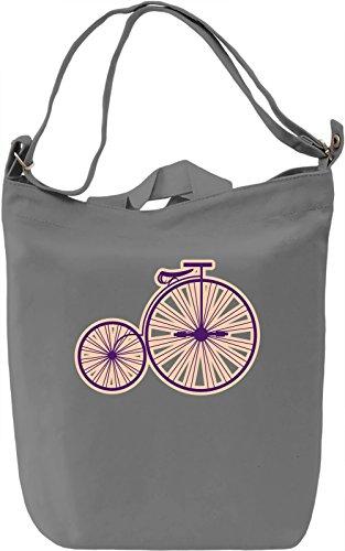 Circus Borsa Giornaliera Canvas Canvas Day Bag| 100% Premium Cotton Canvas| DTG Printing|