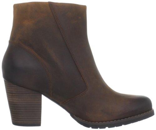 Clarks Women's Mission Alfa Ankle Boot Brown Oily 7JCRNSyGH