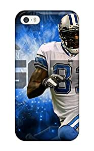 Iphone 5/5s Case Cover - Slim Fit Tpu Protector Shock Absorbent Case (calvin Johnson)