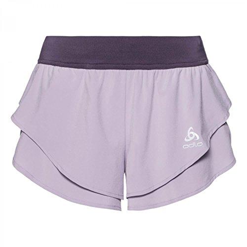 Split Pantaloncino Odlo Donna Omnius violet vintage petal orchid q1E56xEH