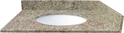 NGY VAT-NEWVENETIANGOLD37 Vanity Top & Sink Natural Stone, 37