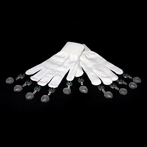 GloFX Gel Glove Set - Light Up Rave EDM 9 Mode LED Gloves by GloFX (Image #5)