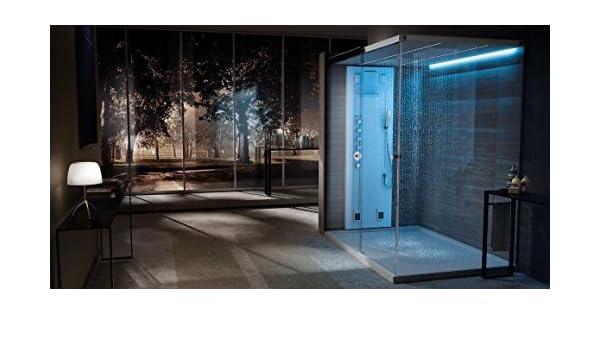 teuco Vapor ducha baño Light Vapor 160 x 100 DuraSec alight con puerta izquierda: Amazon.es: Bricolaje y herramientas