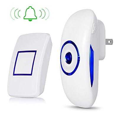 Adoric Wireless Doorbell Waterproof Kit