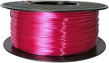 Filamento para impresora 3D color rosa sedoso, PLA, 1,75 mm, 1 kg ...