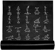 Retrospec Pismo Yoga Mat for Men & Women - Non Slip Excercise Mat for Yoga, Pilates, Stretching, Floor &am