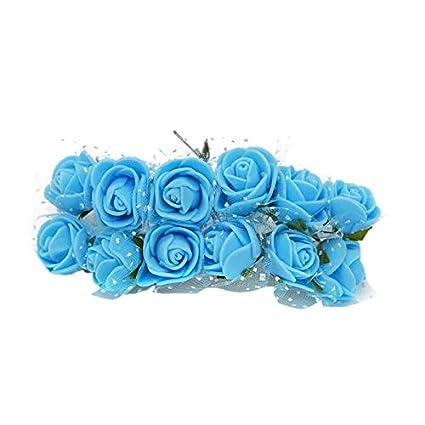 Amazon Com Taka Co Wreath Decoration Mini Foam Rose
