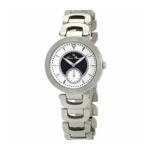 Lucien Piccard Women's LP-10268-22-BKA Casablanca Analog Display Quartz Silver (Analog White Mop)