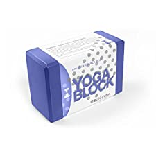 YogaRat Yoga Blocks: One or Two Block Sets, Solid or Two Tone Color, Lightweight, Comfortable EVA Closed Cell Foam 9