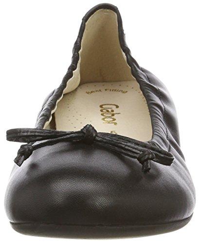 Gabor Women Casual Ballet Flats, Black (Black), 4 UK (37 EU)
