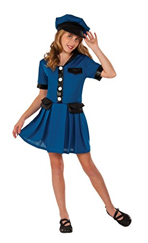 Rubie's Costume Blue Police Chief Deluxe Child Costume,