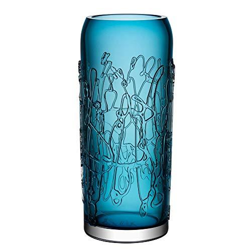 - Kosta Boda Twine Vase, Blue, Large