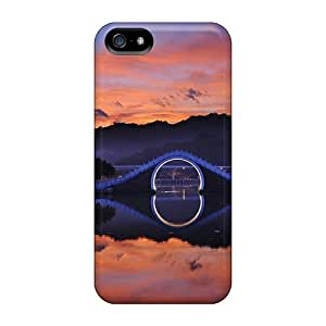 Defender Case For Iphone 5/5s, Mirror Gate Pattern