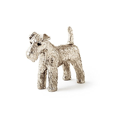 Figurine Terrier (Welsh Terrier Made in UK Artistic Style Dog Figurine Collection)