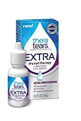 TheraTears Eye Drops for Dry Eyes, Extra...
