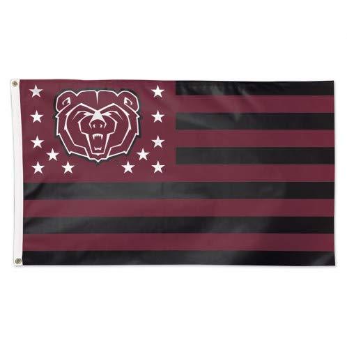 Wincraft Missouri State University Bears American Flag 3 x 5 Foot - - Missouri Bears