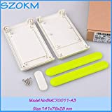 Gimax 8 pcs/lot abs plastic enclosures for remote control enclosures abs material handheld control shell 141x76x28mm