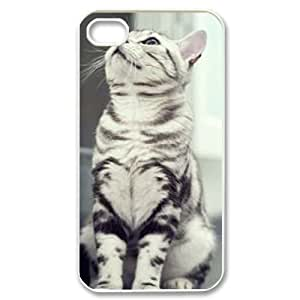 Lovely cat CUSTOM Cover Case for iPhone 4,4S LMc-34112 at LaiMc