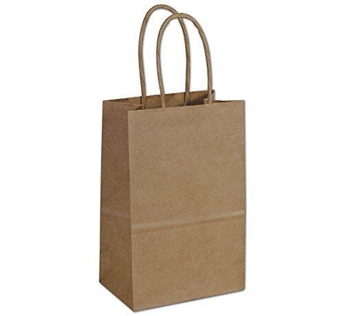 Abc Tempo Kraft Shopping Bag 60  Natural Kraft Paper  5 1 4 X 3 1 2 X 8 1 4   250 Bags