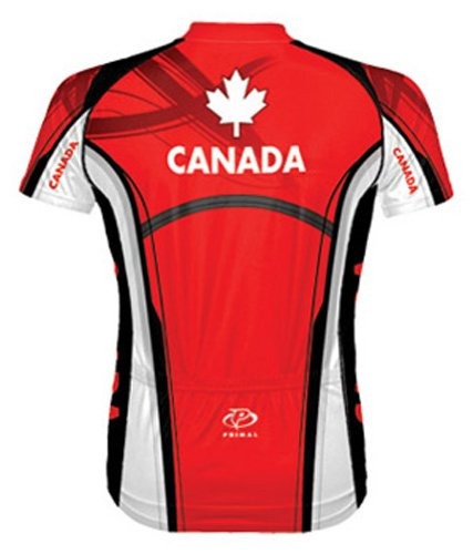 Primal-Wear-Canada-Shortsleeve-Cycling-Jersey-Choice-of-Size