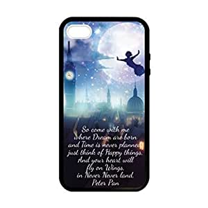 Peter Pan Quote Image Protective iphone 6 4.7 / iPhone 5 Case Cover Hard Plastic Case For iPhone 6 4.7