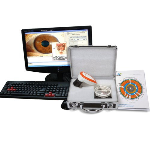 2014 CE FCC NEW 5.0 MP USB Iriscope Iris Analyzer Iridology Camera with Pro Iris Software(GH11003)