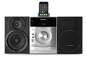 Sharp XLDH360 - Minicadena (puerto para iPhone y iPod, 160 W)