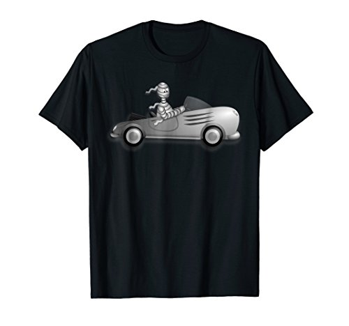 Mummy Car Halloween T-Shirt -