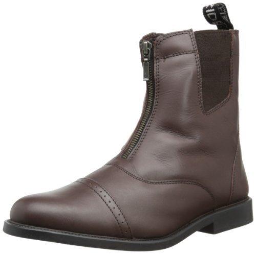 Tuffrider Mocha Men' Barouque Zip Front S 95 Boots Zipper Paddock Metallo nbsp;by With vvrwdqxF