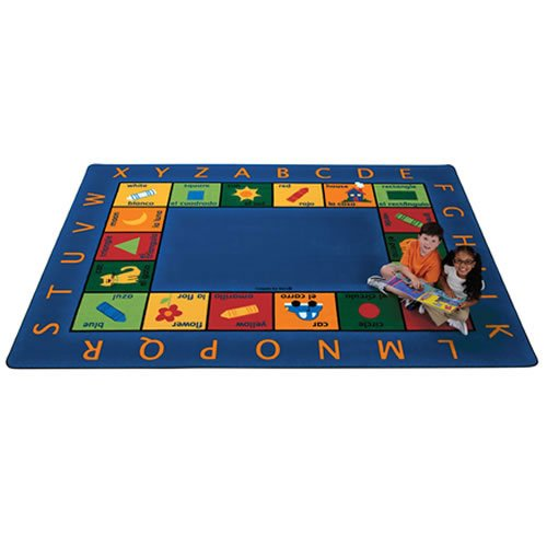 Carpets for Kids 9512 Bilingual Circletime Rug - 8'4