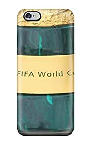 Iphone 6 Plus Hard Back With Bumper Silicone Gel Tpu Case Cover Brazil World Cup 2014