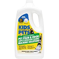 KIDS N PETS PET STAIN & ODOR CARPET & UPHOLSTERY CLEANER MACHINE SOLUTION