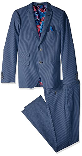 Paisley & Gray Men's Ashton Slim Fit Suit, Blue, 46R/38W, used for sale  Delivered anywhere in USA