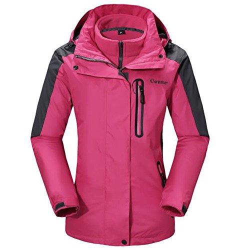 womens 3 in 1 rain jacket - 7