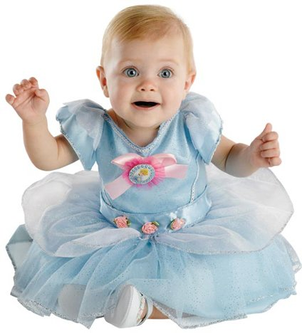 [CINDERELLA INFANT Costume(Size:12-18M)] (Princess Costumes For Babies)