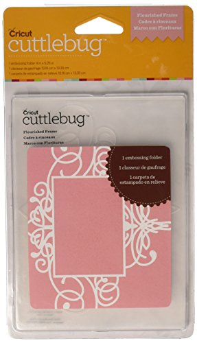 Cuttlebug A2 Embossing Folder, Flourished (Provo Craft Frames)
