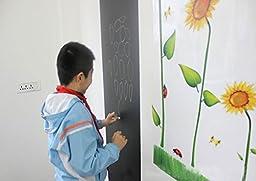 EachWell DIY Vinyl Chalkboard Removable Blackboard Wall Sticker Decal 18 x 79 \