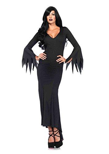Leg Avenue Women's Gothic Costume Dress, Black, Medium/Large