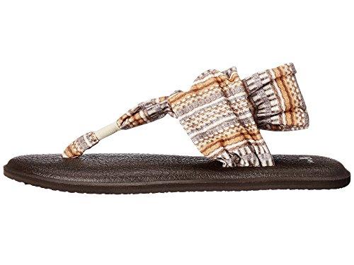Sanuk Frauen Yoga Sling 2 Flip Flop Natürliche-Bayridge-Decke