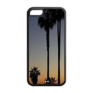 Fashion Protector Design California Beach Back Hard Cover Case For iPhone 5c