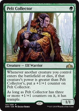 Magic: The Gathering - Pelt Collector - Guilds of Ravnica - Rare