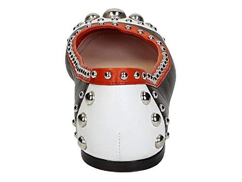 Zapatillas Modelo Suave En De Bailarinas Negro Ok7 Roja Piel Negra blanca Número F0967 Prada 1f770e blanco UvUqr
