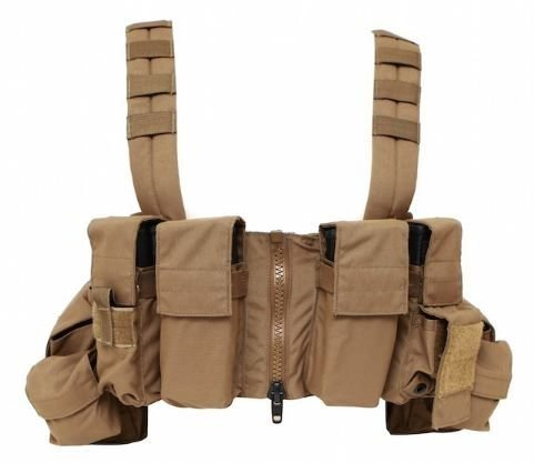 LBX TACTICAL Lock & Load Chest Rig Coyote Brown
