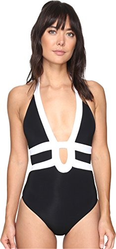 jets-by-jessika-allen-womens-classique-banded-halter-one-piece-black-white-swimsuit