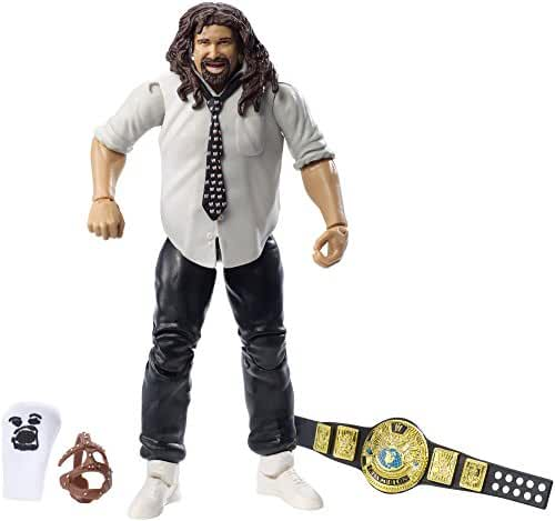 WWE SummerSlam Elite Mix Mankind Figure