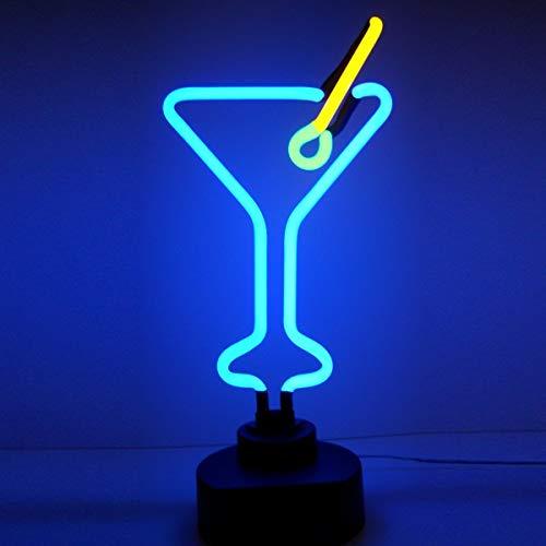 Neonetics Martini Glass NEON Sculpture