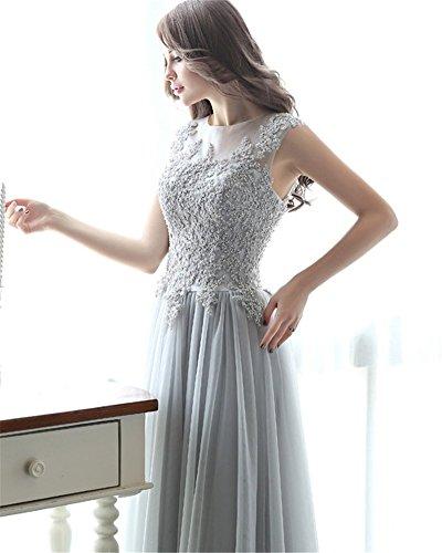 Empire Damen Drasawee Empire Grau Drasawee Grau Damen Drasawee Empire Drasawee Grau Kleid Kleid Kleid Damen 4x8ZZ1