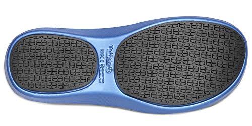 Blu Metallico Donna Da Aktivlite Scarpa Infermiere Toffeln waT8Xxp